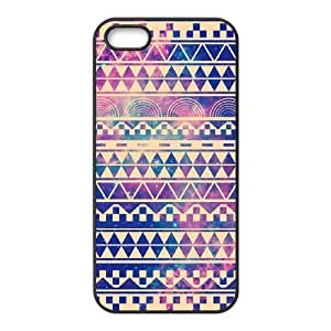 Aztec Tribal Pattern Use Your Own Image Phone Case for Iphone 5,5S,customized case cover ygtg537152