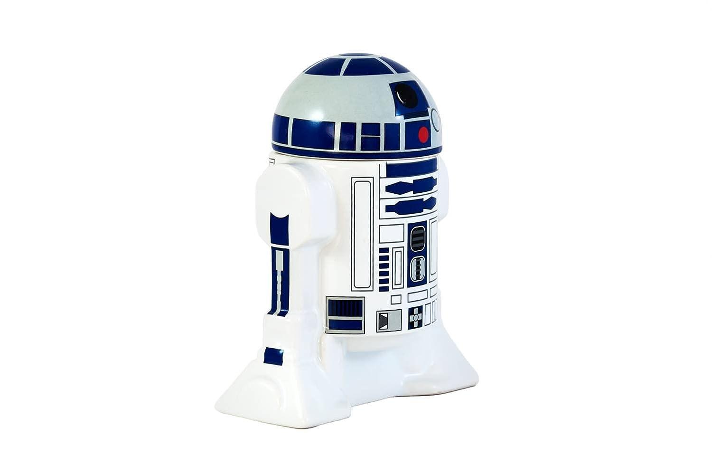 Bluw Star Wars R2-D2 Egg Cup, Cerámica, Blanco y Azul, Centimeters