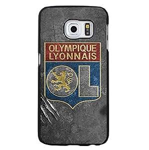 Retro Classical Olympique Lyonnais Football Club Phone Case for Samsung Galaxy S6 Edge Plus OL Lyon FC Logo Hard Phone Shell Case