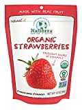 Nature's All Foods Organic Freeze-Dried Strawberries, 1.2 Ounce Pouches (Pack of 3) For Sale