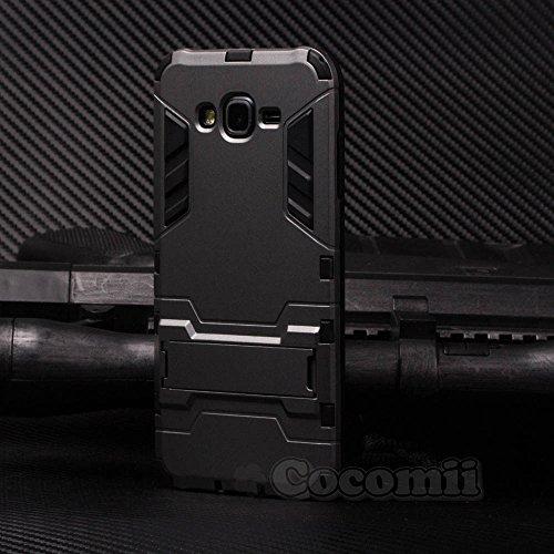 Slim Shockproof Case for Samsung Galaxy J7 (Grey) - 5