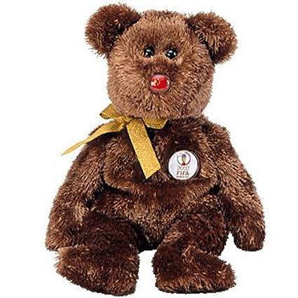 Amazon.com  TY Beanie Baby - CHAMPION the FIFA Bear ( China ) (8.5 ... 2557a2ba45b