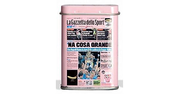 La Gazzetta dello Sport - Pastillas Leone, caramelos con caja y titular