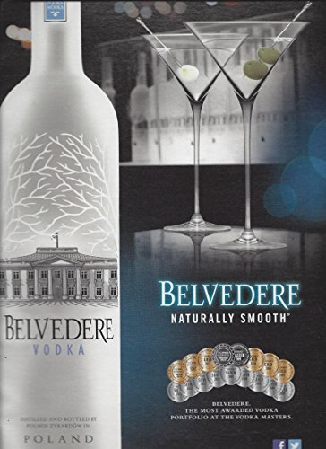 print-ad-for-belvedere-vodka-2013-naturally-smooth-award-medallion-scene