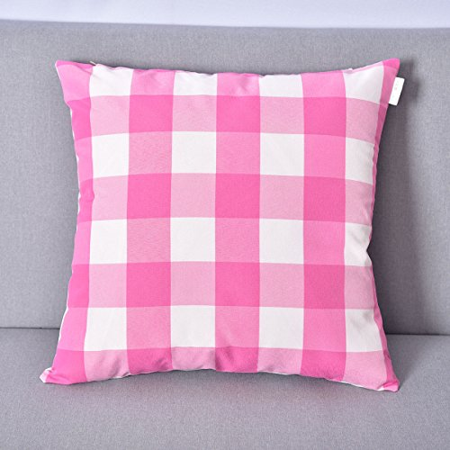 Natus Weaver Classic Retro Checkers Pink and White Plaids De