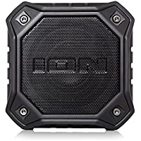 ION Audio iSP74BK Dunk Waterproof Portable Bluetooth Speaker