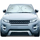 Auto Sunshade for Windshield - Heat Shield Sun Visor - Keeps Vehicle Several Degrees Cooler - Blocks 99% UV Radiation and Protects Interior (Large)