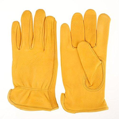 Tuff Mate Gloves Mens Tuff Mate 1500 Deerskin Glove L Tan