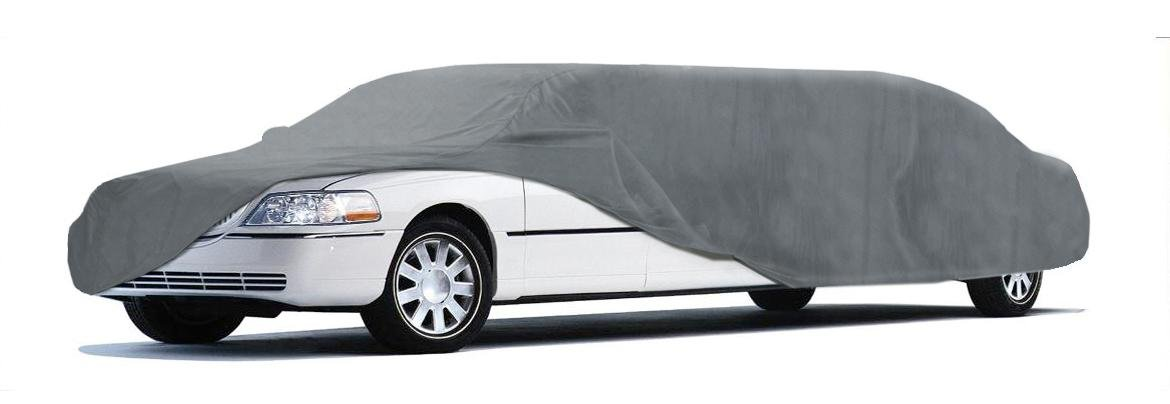 Coverking UVCLMO1N98 Universal Fit Car Cover for Limo Length 22.1 ft. to 24 ft. - Car Coverbond 4 Moderate Weather Outdoor (Gray)