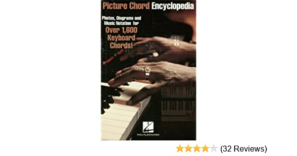 Diagrams And Music Notation For Over 1 600 Keyboard Chords Picture Chord Encyclopedia For