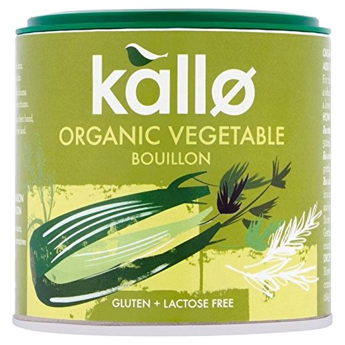 Kallo Organic Vegetable Stock Powder 100G