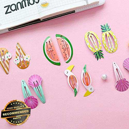 Gatton Premium New 6Pcs/set Cute Kids Watermelon Mermaid BB Hair Clips Baby Hairpins Headwear Gifts | Style HRCL-M182012582