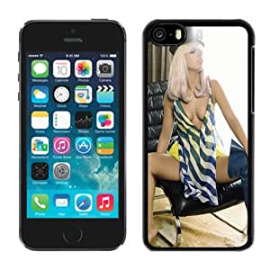 Beautiful Custom Designed Cover Case For iPhone 5C With Lady Gaga Sexy Phone Case WANGJING JINDA