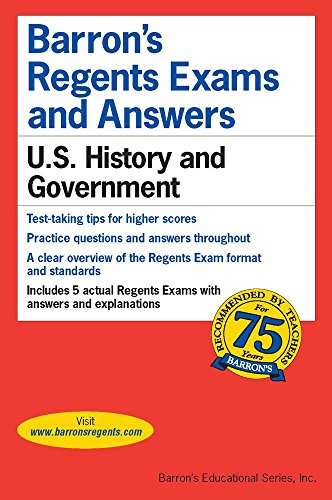 Regents Exams and Answers: U.S. History and Government (Barron's Regents Exams and Answers)