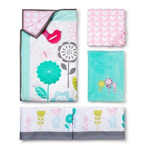 Circo™ 4pc Crib Bedding Set - Burst of Spring