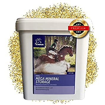 EMMA ♥ Complejo alimenticio Mineral Caballos I alimentación complementaria B-vitaminas y A,E