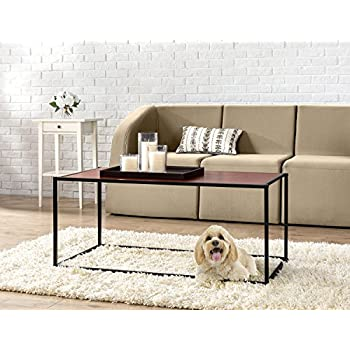 High Quality Zinus Modern Studio Collection Classic Rectangular Coffee Table, Brown