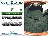 100% Organic Spirulina Powder -Fresh & Premium quality-1 lb