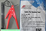 120lb.to175lb. HEAVY DUTY CABLE ZIP TIES AUTOMATIC TENSION CUTOFF GUN TOOL