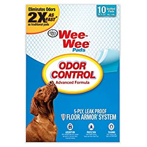 Four Paws Wee-Wee Puppy Training Pee Pads for Dogs with Febreze 12