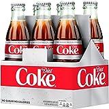 Diet Coke Glass Bottles 4(6 Packs)