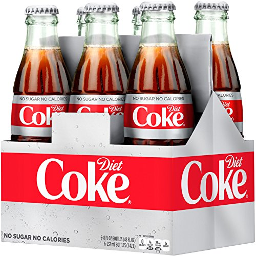 (Diet Coke Glass Bottles 4(6 Packs))