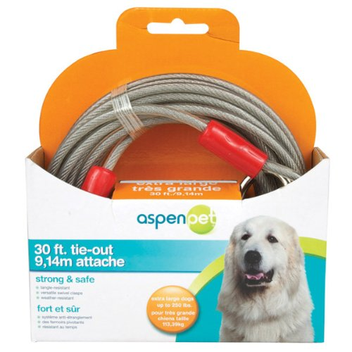 Cider Mill 30' Dog Tieout for Dogs up to 250 lbs.
