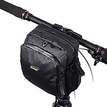 Water Resistant Bike Handlebar Bags Cycling Front Top Pannier Bike Frame Storage Bag
