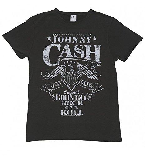 Amplified Johnny T De Homme Noir Shirt Cash Aigle pwgrpAq