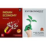IAS COMBO Indian Economy By Ramsh Singh 10th Edition And ENVIORNMENT By Shankar IAS Academy,For Civil Services, UPSC,IAS,IPS EXAM English Medium,(Ramesh Singh, ENVIORNMENT By Shankar IAS Academy)