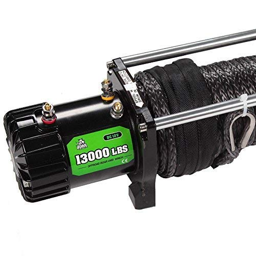 OFFROAD BOAR Synthetic Rope Waterproof Winch - 13000 lb. Load Capacity by OFFROAD BOAR (Image #1)