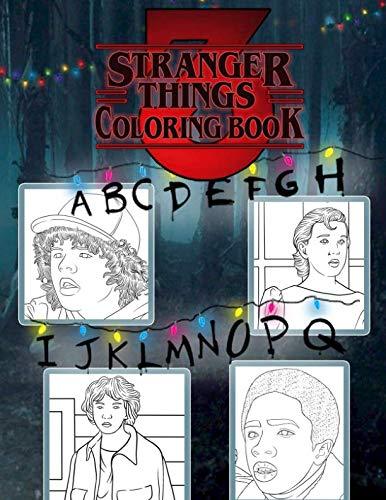 Stranger Things 3 Coloring Book