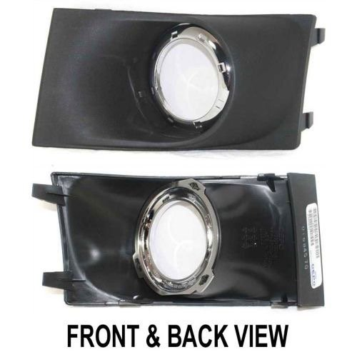 Go-Parts ª OE Replacement for 2008-2011 Ford Focus Fog Light Cover - Right (Passenger) Side - (S Sedan + SE Sedan + SEL Sedan) 8S4Z 15266 AA FO2599101 for Ford Focus ()