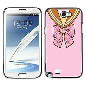 Dragon Case - FOR Samsung Note 2 N7100 - time after time - Caja protectora de pl??stico duro de la cubierta Dise?¡Ào Slim Fit