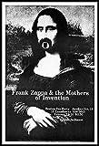 Frank Zappa Fridge Magnet 3.5 x 5 Live in Boston Magnetic Concert Poster