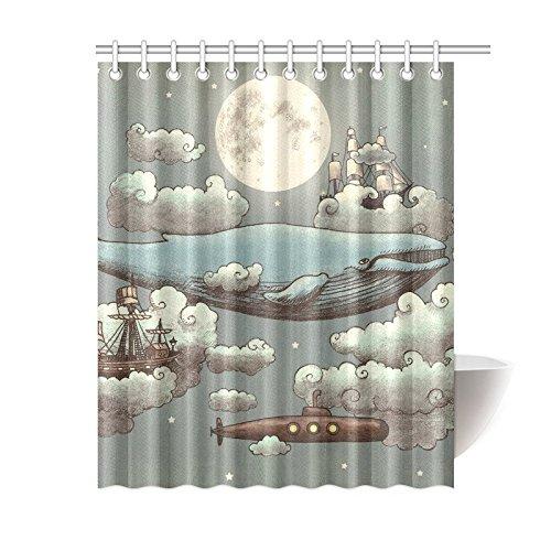 whale shower curtain - 7