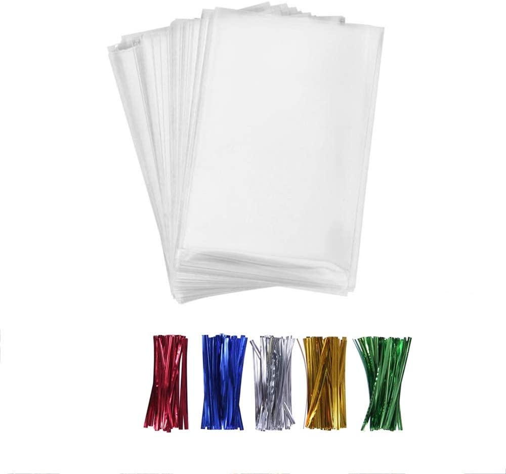 1000 4x6 Clear Bakery Cake Pops Lollipops Cookie Cello Cellophane Poly Bags O