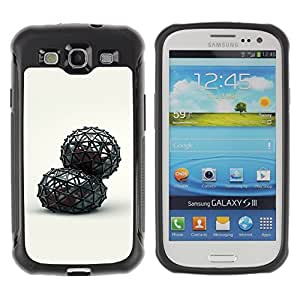 LASTONE PHONE CASE / Suave Silicona Caso Carcasa de Caucho Funda para Samsung Galaxy S3 I9300 / Abstract
