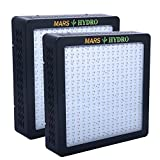 [Pack of 2]MarsHydro MARSII 1200 Led Grow Light Full Spectrum High Penentration Led Grow Lamp the 552W True Watt Panel for Indoor Greenhouse/Garden Light & Lighting With Dual Veg/Flower Spectrum