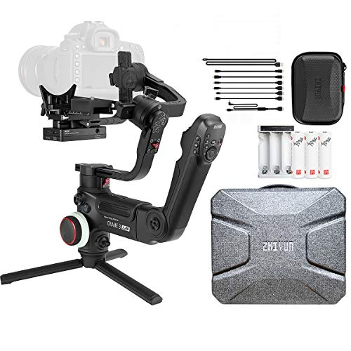 Zhiyun (Official) Crane 3 Lab Handheld 3-Axis Gimbal Stabilizer for DSLR and Mirrorless Cameras
