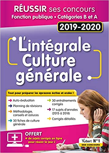 190f49a0064 ... de culture générale   Concours Fonction publique - Catégories A et B - Concours  2019-2020 - Mélanie Hoffert