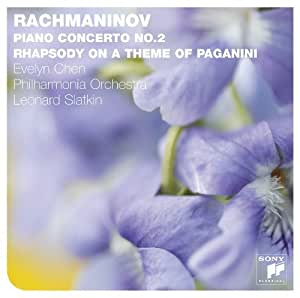 Rachmaninov: Piano Concerto No.2 Rhapsody on a the by Evelyn Chen (2011-06-21)