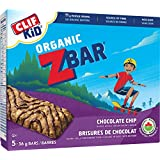 CLIF KID ZBAR - Organic Energy Bar - Chocolate Chip - (36 Gram Snack Bar, 5 Count) (packaging may vary)