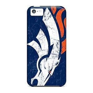 Great Hard Phone Cases For Iphone 5c With Unique Design Beautiful Denver Broncos Skin LavernaCooney