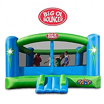 Blast Zone Big OL Hamaca Hinchable Moonwalk: Amazon.es ...