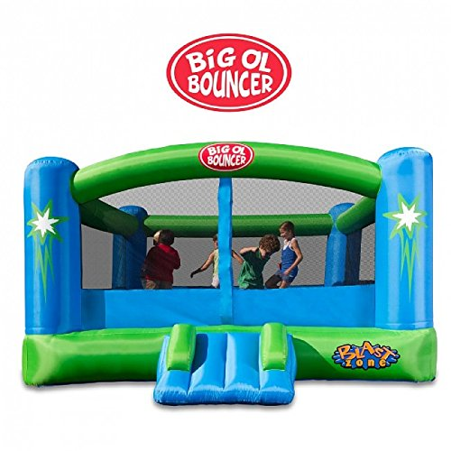 Blast Zone Big Ol Bouncer Inflatable Moonwalk (Feel Bouncer)