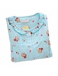 [Blue Bear] Cotton Maternity Sleepwear Nursing Pajamas Set Breastfeeding Pajamas