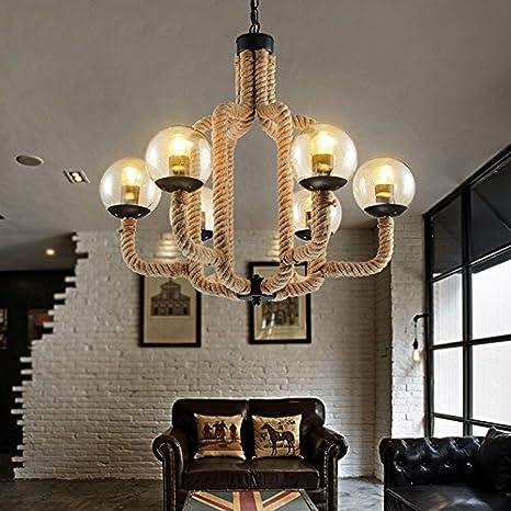 jinrou Modern/Vintage Lámpara colgante Dormitorio Salón comedor ...