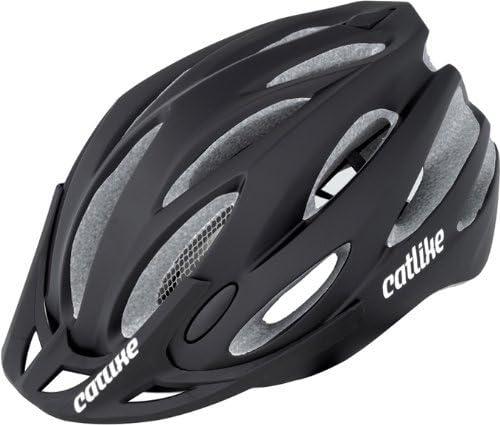 Catlike Neko - Casco de Bicicleta (60-64 cm) Negro Negro Talla:60 ...