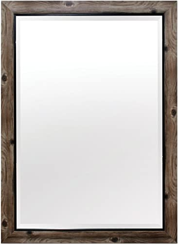 Yosemite Home Decor Yosemite Mirrors, Medium, Gray Black